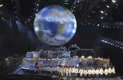 Children perform at the